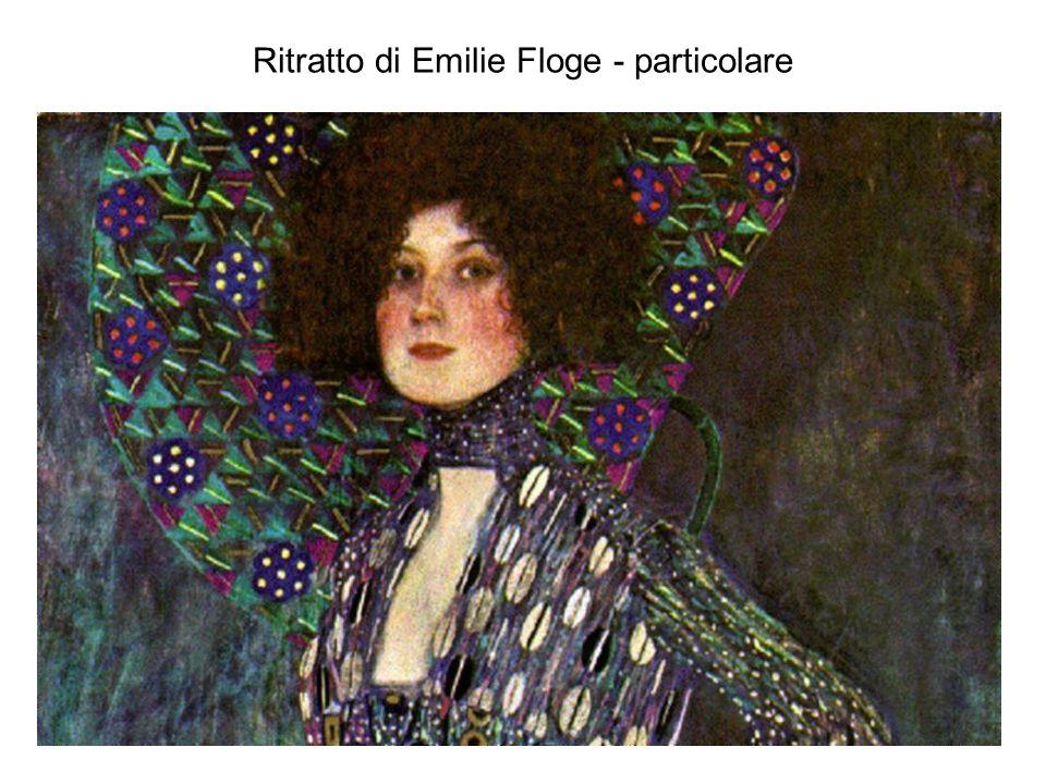 Ritratto di Emilie Floge - particolare