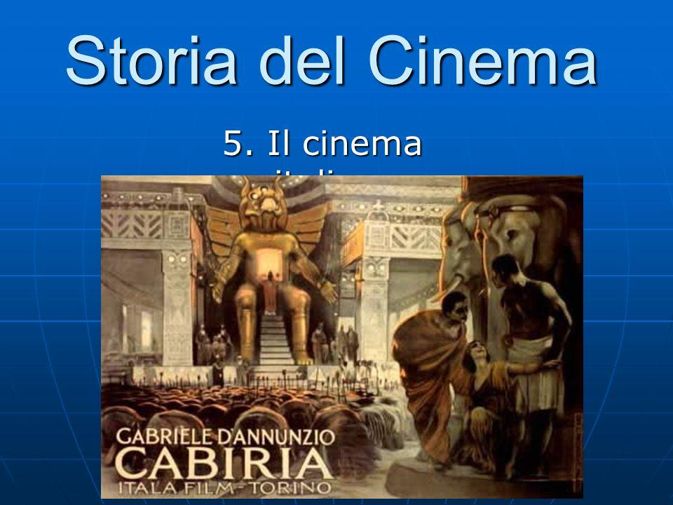 Storia del Cinema 5. Il cinema italiano