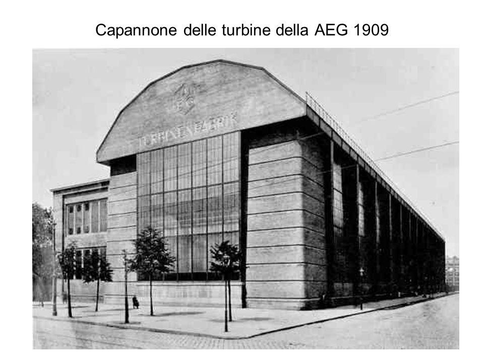 Capannone delle turbine della AEG 1909