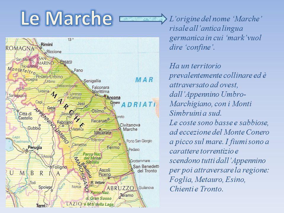 Ha un territorio prevalentemente collinare ed è attraversato ad ovest, dall'Appennino Umbro- Marchigiano, con i Monti Simbruini a sud. Le coste sono b