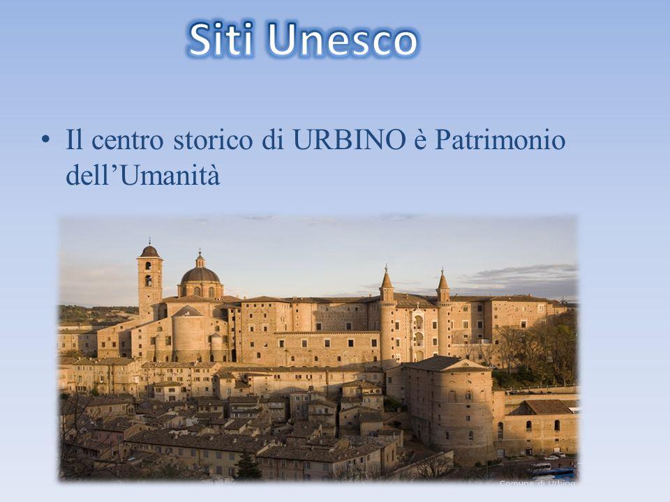 Il centro storico di URBINO è Patrimonio dell'Umanità