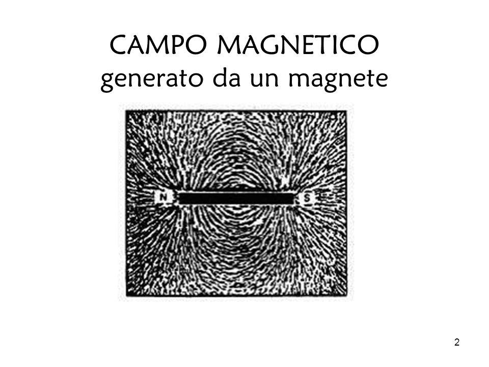 2 CAMPO MAGNETICO generato da un magnete