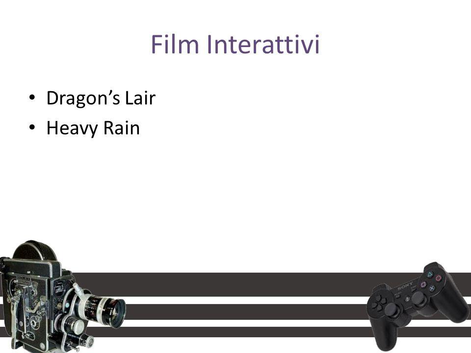 Film Interattivi Dragon's Lair Heavy Rain