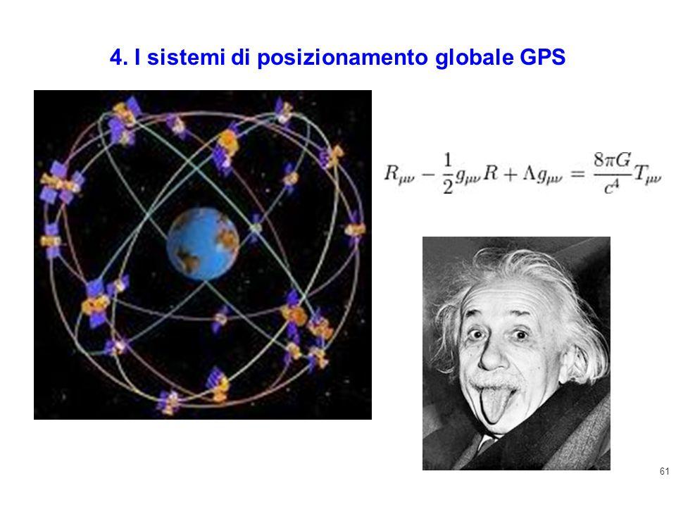 61 4. I sistemi di posizionamento globale GPS