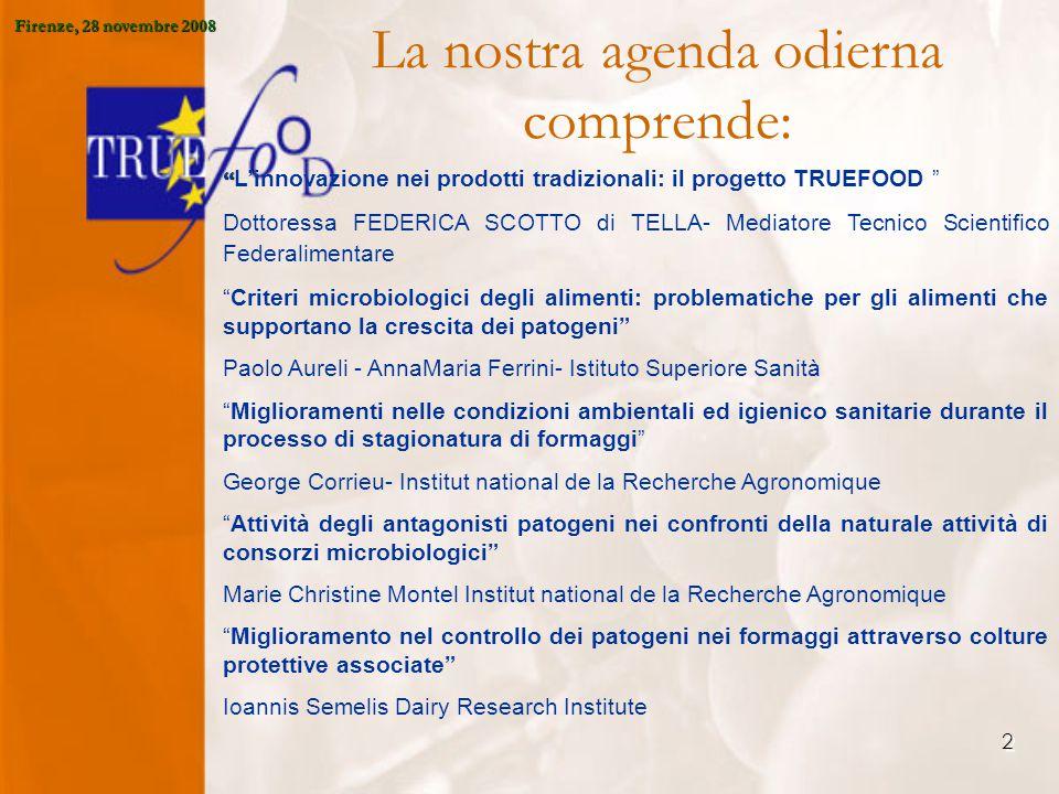 23 E' stata condotta una analisi, sulla scia del progetto europeo SMEs- NET, sulle esigenze di formazione delle PMI Firenze, 28 novembre 2008