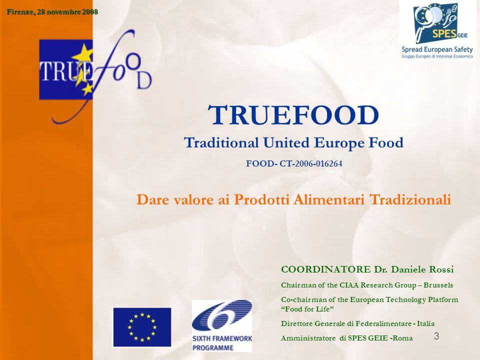 4 Industria Europea dei Prodotti Agroalimentari 1.Trasforma più del 70% della produzione di materia prima agroalimentare.