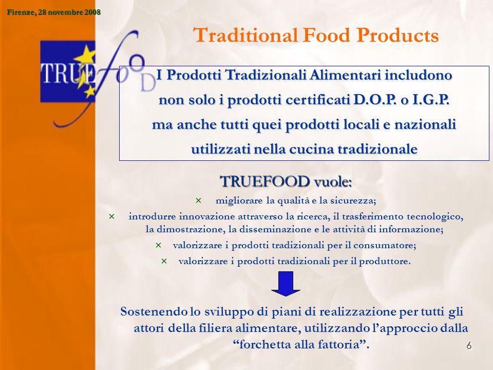7 Perché TRUEFOOD.1.Aumentare la competitività attraverso l'innovazione; 2.