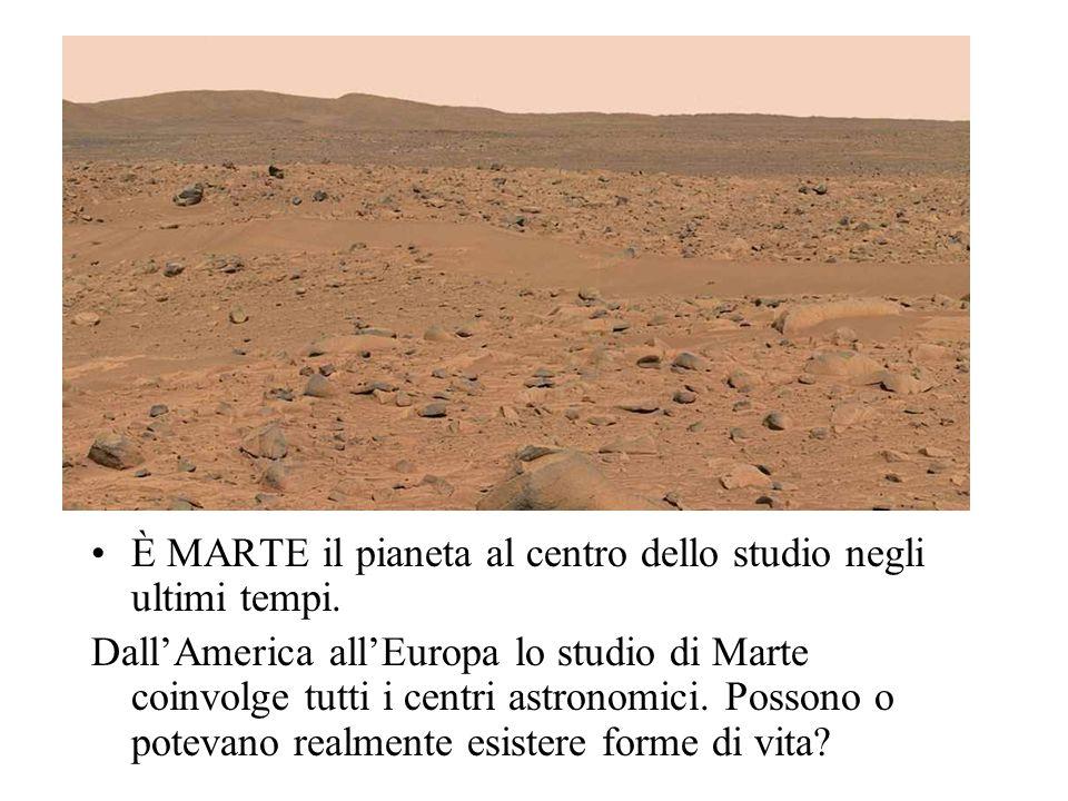 È Mars Express la sonda più importante, totalmente Europea, e soprattutto più sofisticata ad esaminare il pianeta Marte