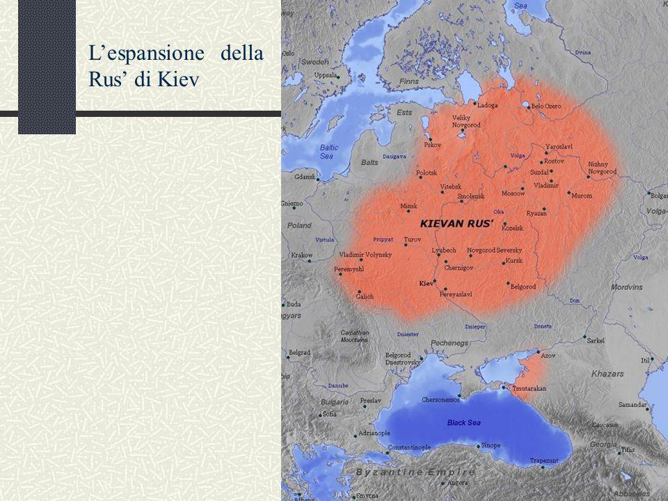 L'espansione della Rus' di Kiev