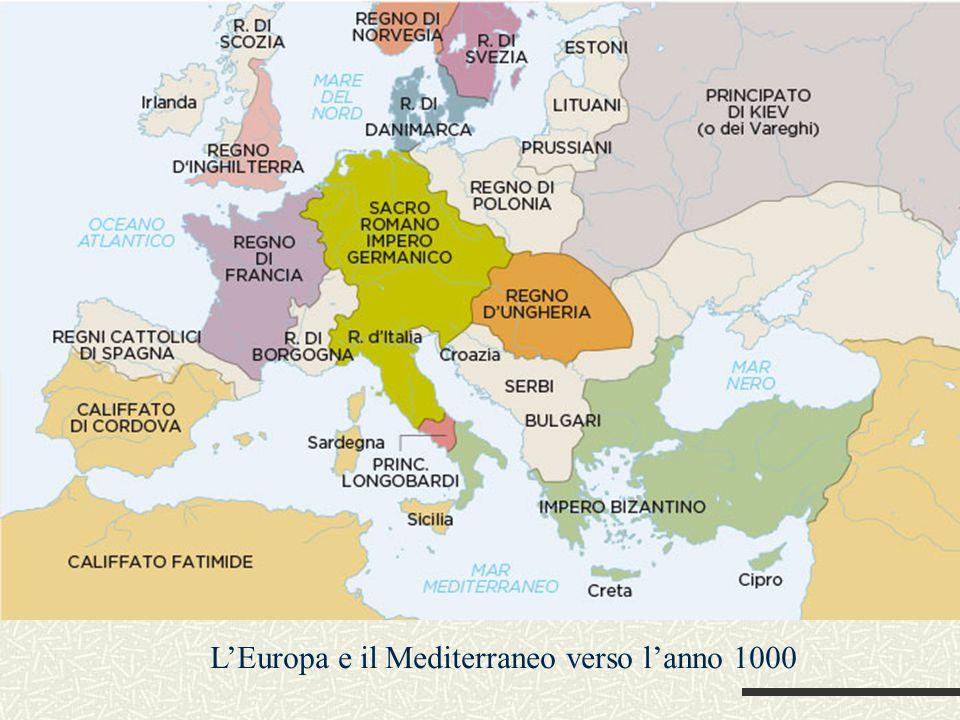 L'Europa e il Mediterraneo verso l'anno 1000