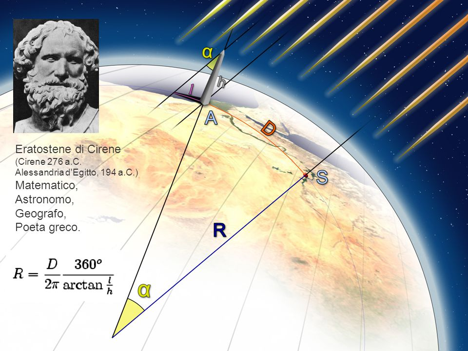 Eratostene di Cirene (Cirene 276 a.C.