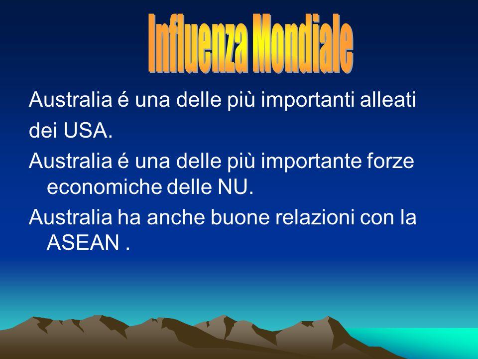 Australia é una delle più importanti alleati dei USA.
