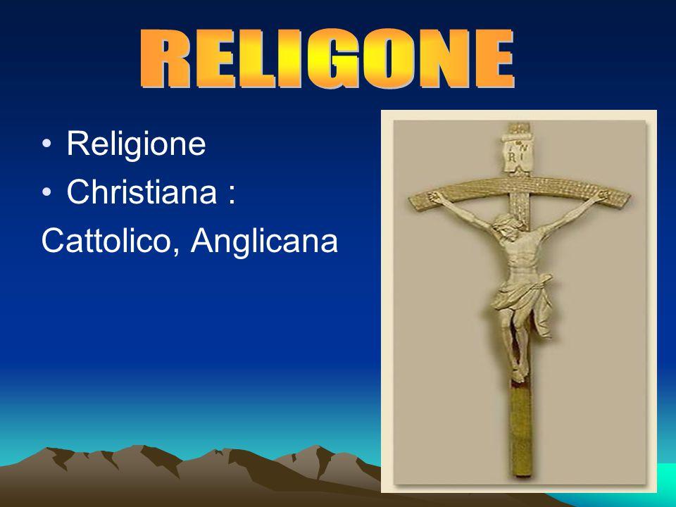 Religione Christiana : Cattolico, Anglicana