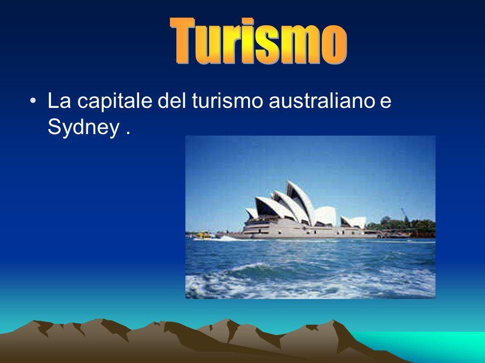 La capitale del turismo australiano e Sydney.