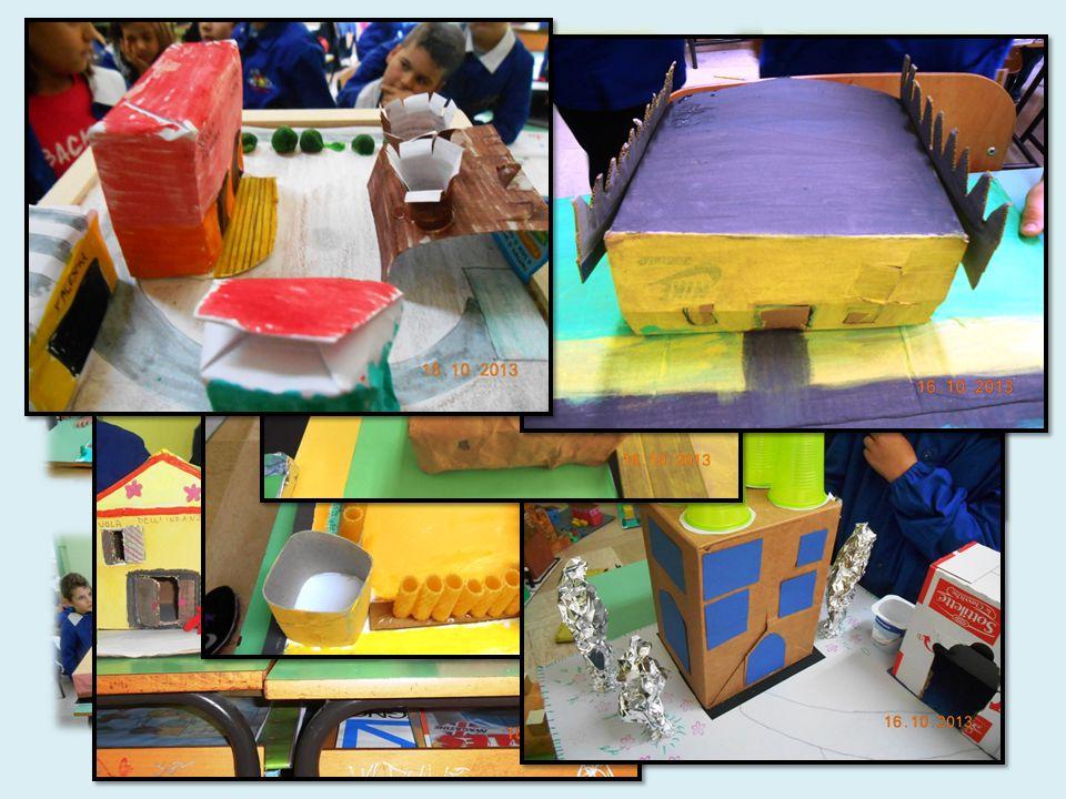 Noi alunni abbiamo realizzato dei plastici che rappresentano il nostro centro storico.