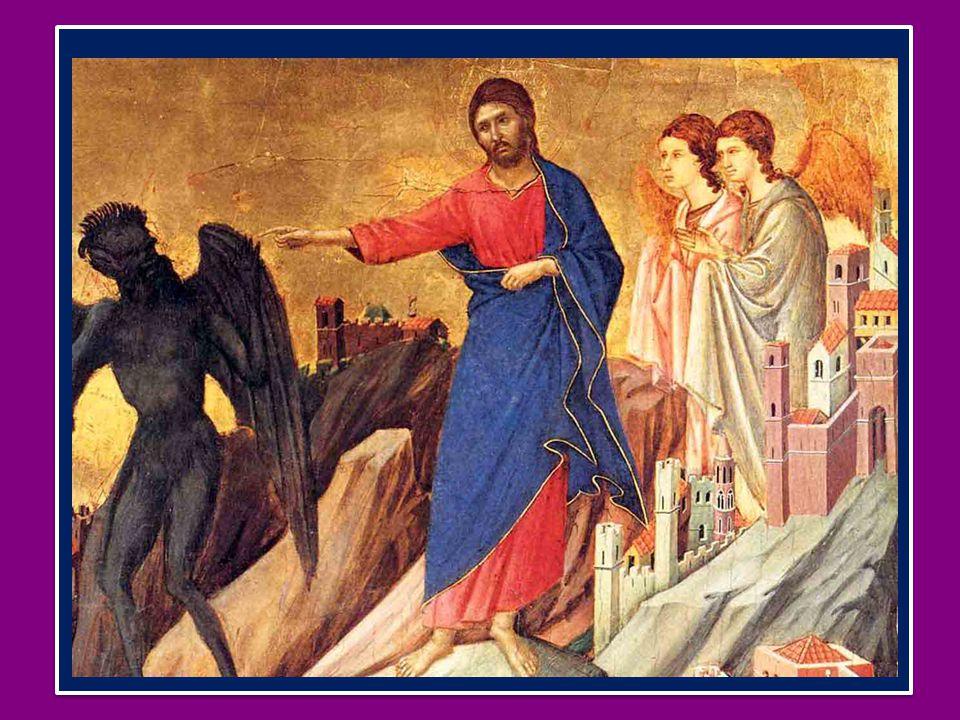 Gli angeli servono Gesù, che è certamente superiore ad essi, e questa sua dignità viene qui, nel Vangelo, proclamata in modo chiaro, seppure discreto.