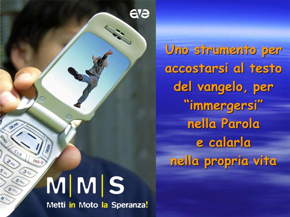 Uno strumento per accostarsi al testo del vangelo, per immergersi nella Parola e calarla nella propria vita