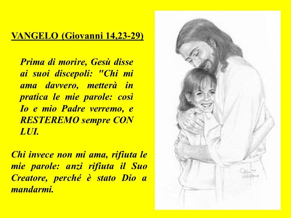 Lì non c'è bisogno di chiese: perchè tutti vedono Dio Onnipotente e Gesù Cristo direttamente. E non c'è bisogno della luce del sole o della luna: perc