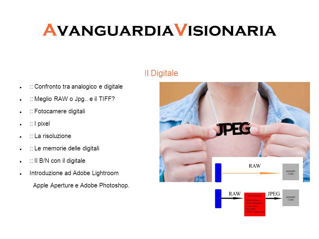 AvanguardiaVisionaria Il Digitale :: Confronto tra analogico e digitale :: Meglio RAW o Jpg..