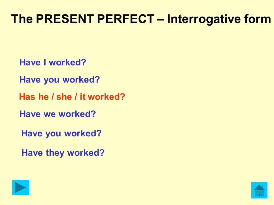 Altri casi in cui si usa il Present Perfect: Il Present perfect si usa per chiedere se un'azione è già avvenuta con l'avverbio YET Examples