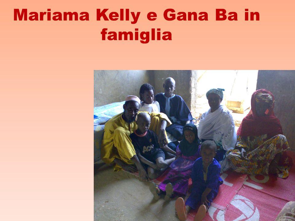 Mariama Kelly e Gana Ba in famiglia