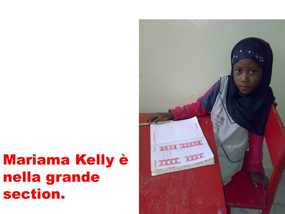 Mariama Kelly è nella grande section.