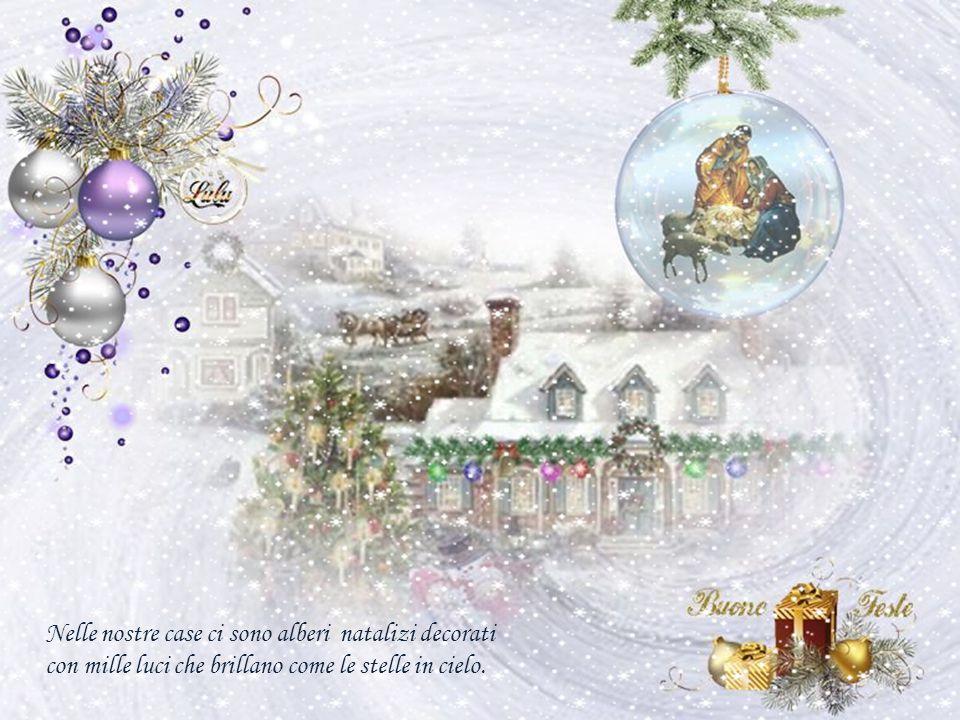 È arrivato Natale! Tutta la terra è ricoperta da un'ondata magica piena di effetti speciali.