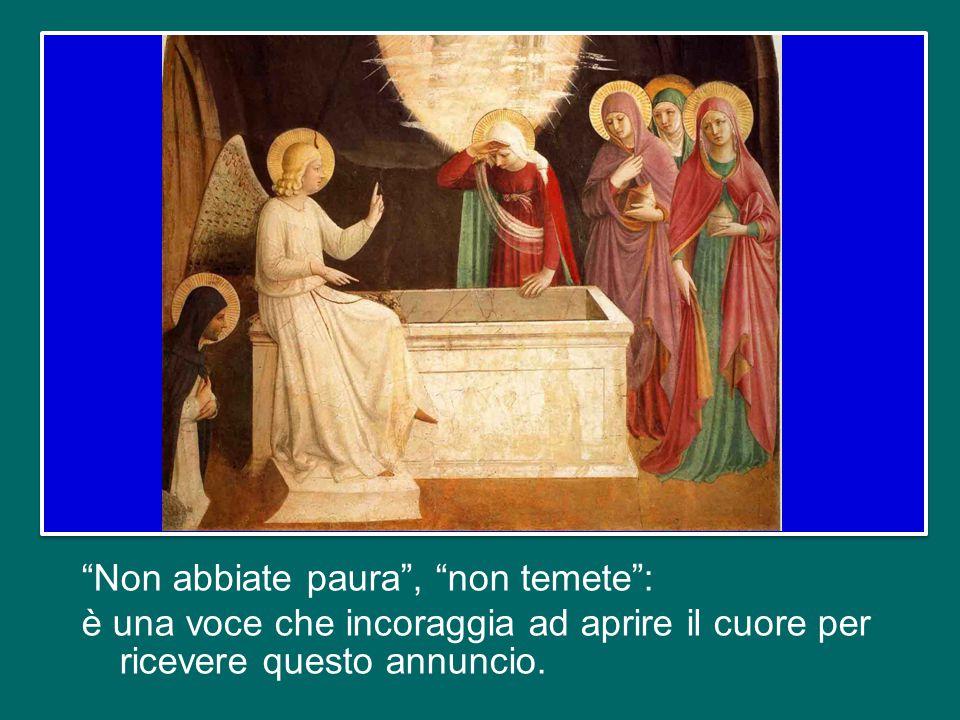 e ordina di andare a portare la notizia ai discepoli: «È risorto dai morti, ed ecco, vi precede in Galilea» (v.