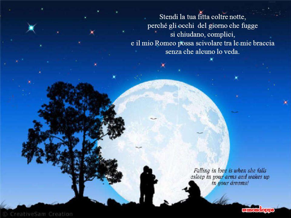 L'amore è fumo creato dai sospiri degli amanti; se è dissipato è fuoco che scintilla negli occhi degli amanti; se è sofferto è un mare che si riempie delle lacrime degli amanti