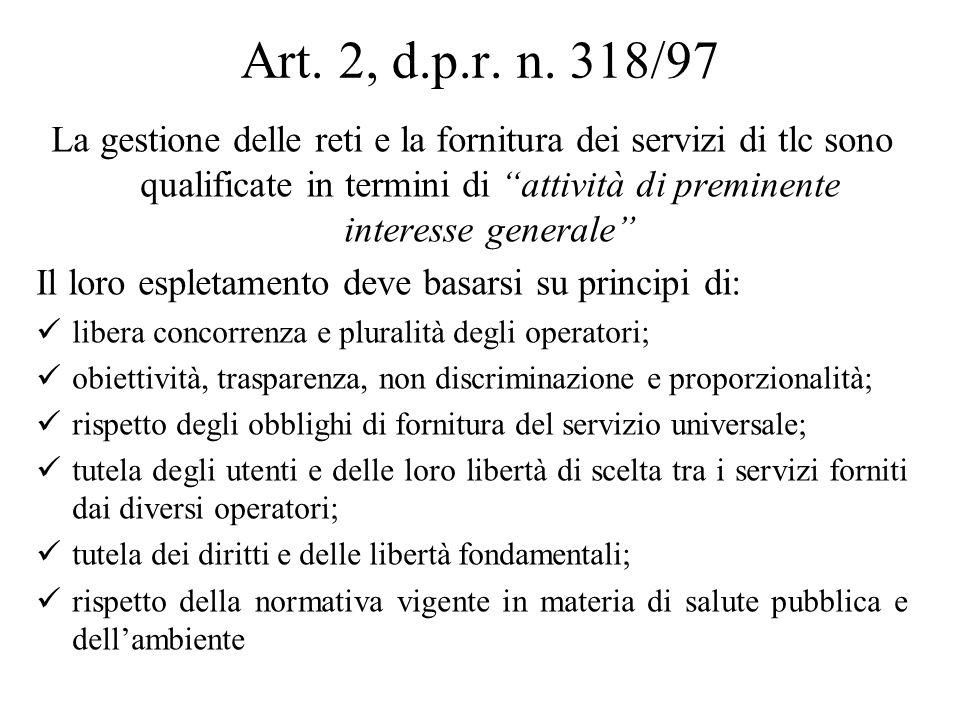 Art. 2, d.p.r. n.