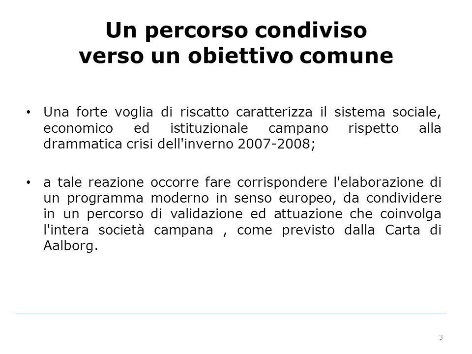 34 – Provincia di Salerno: Serre – in esaurimento – Provincia di Napoli: Chiaiano (ipotesi progettuale) Terzigno (ipotesi progettuale)