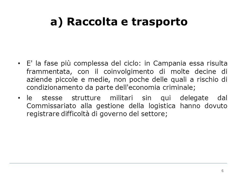 17 Priorità due: RD AvellinoBeneventoCasertaNapoliSalernomedia regionaleOB.