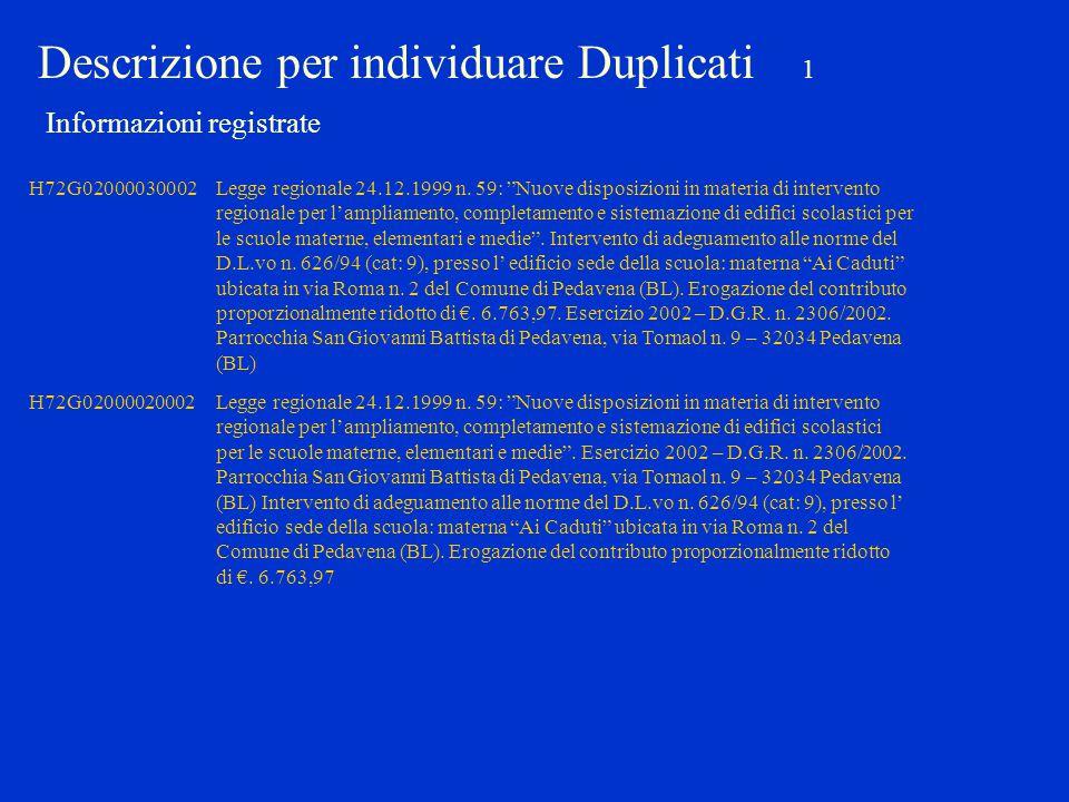 """H72G02000030002Legge regionale 24.12.1999 n. 59: """"Nuove disposizioni in materia di intervento regionale per l'ampliamento, completamento e sistemazion"""