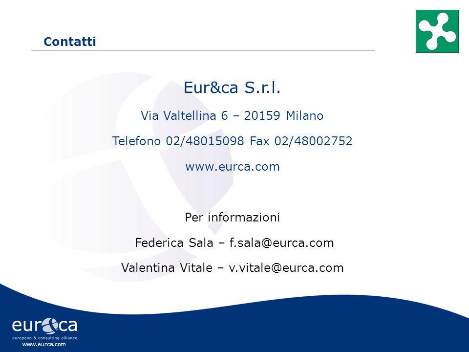 www.eurca.com Contatti Eur&ca S.r.l.