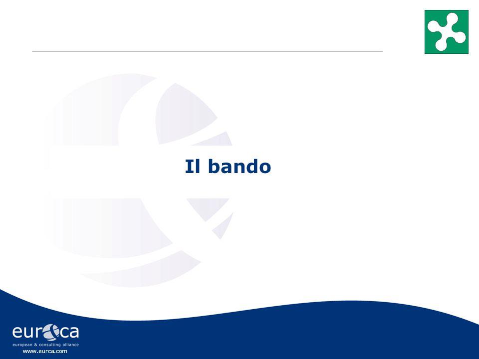 www.eurca.com Il bando