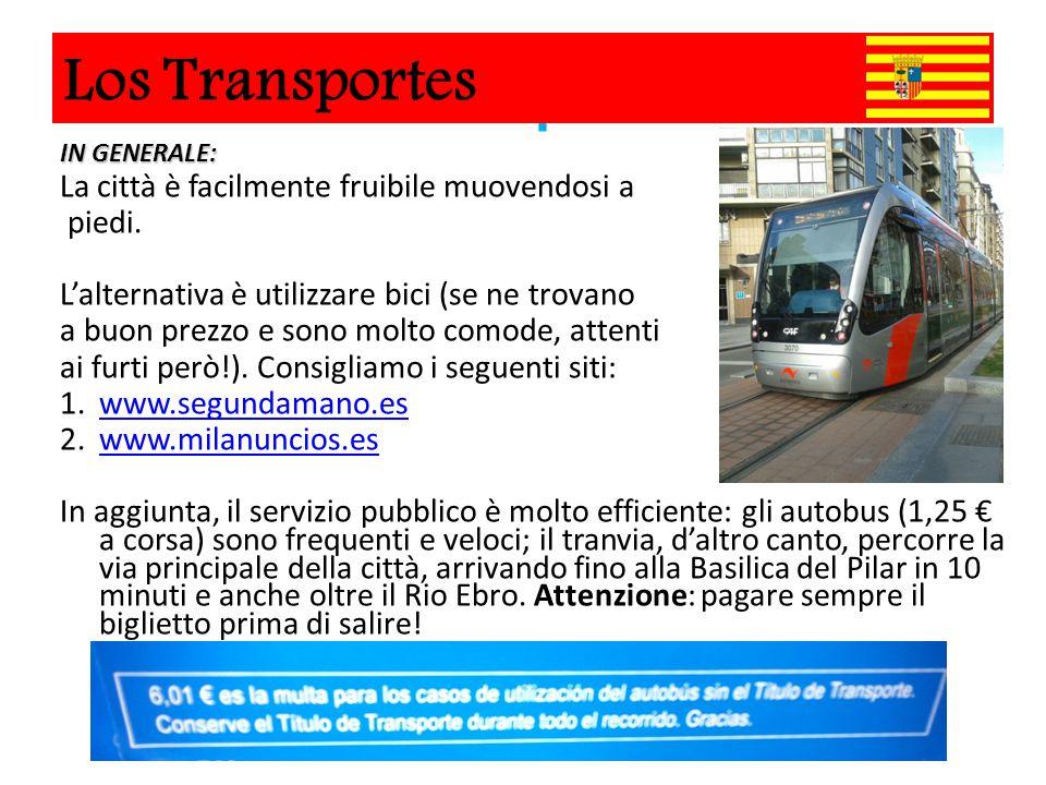 Los Transportes IN GENERALE: La città è facilmente fruibile muovendosi a piedi. L'alternativa è utilizzare bici (se ne trovano a buon prezzo e sono mo