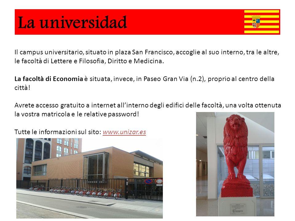 Universidad Il campus universitario, situato in plaza San Francisco, accoglie al suo interno, tra le altre, le facoltà di Lettere e Filosofia, Diritto