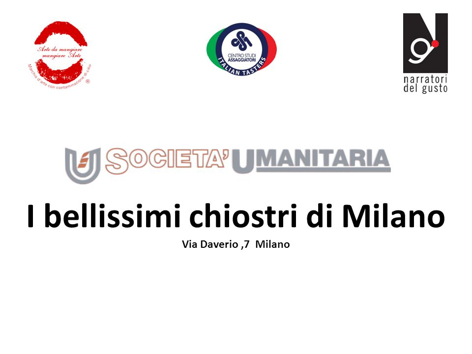 I bellissimi chiostri di Milano Via Daverio,7 Milano
