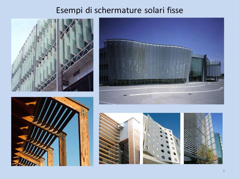 8 Esempi di schermature solari fisse