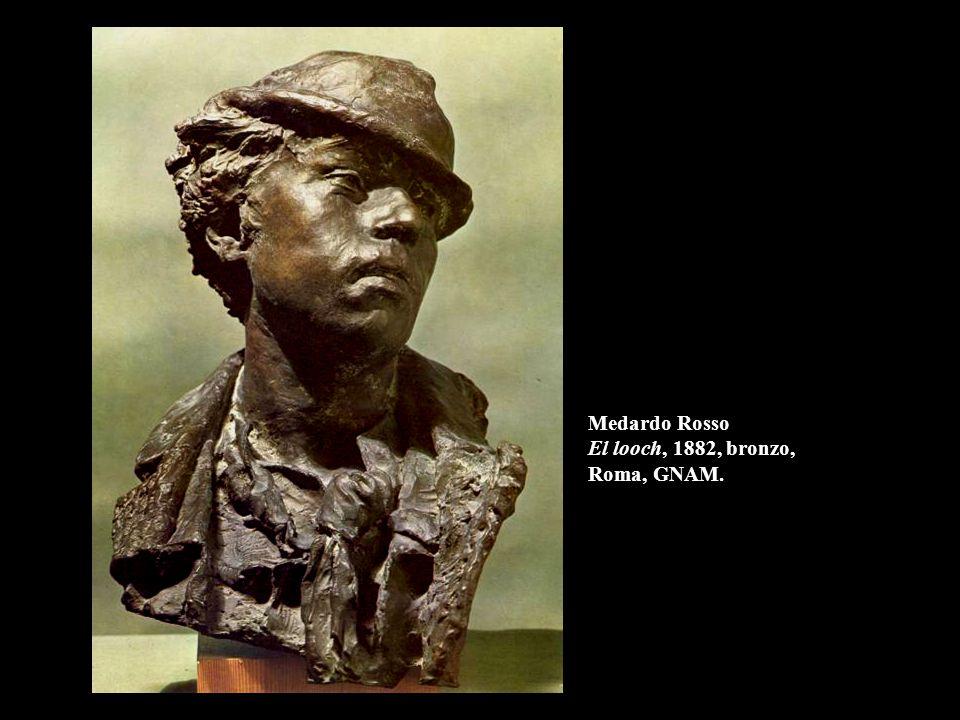 Auguste Rodin Adamo, 1880, bronzo, h. 192 cm. Parigi, Museo Rodin.