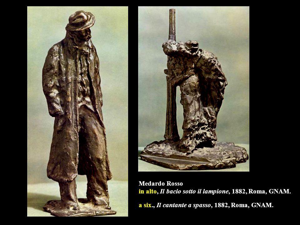Medardo Rosso, Bimba che ride, 1890, cera, Roma, GNAM.