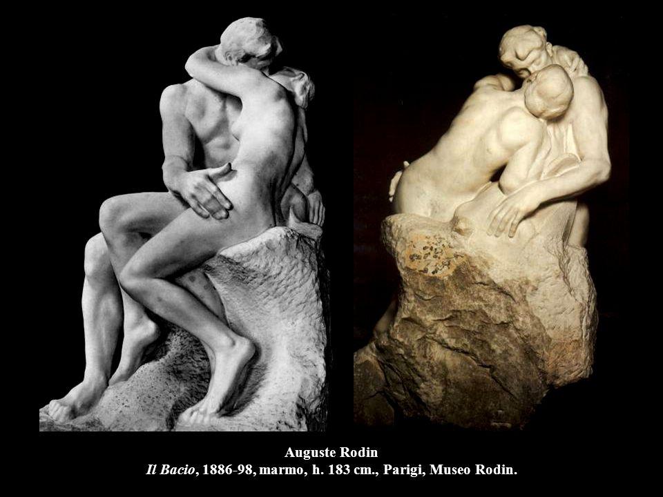 Auguste Rodin Il Bacio, 1886-98, marmo, h. 183 cm., Parigi, Museo Rodin.