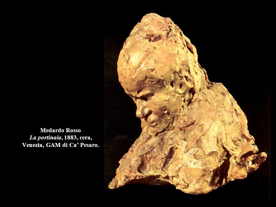 Auguste Rodin Il Pensatore, 1880-1904, gesso, h. 182 cm., Parigi, Museo Rodin.