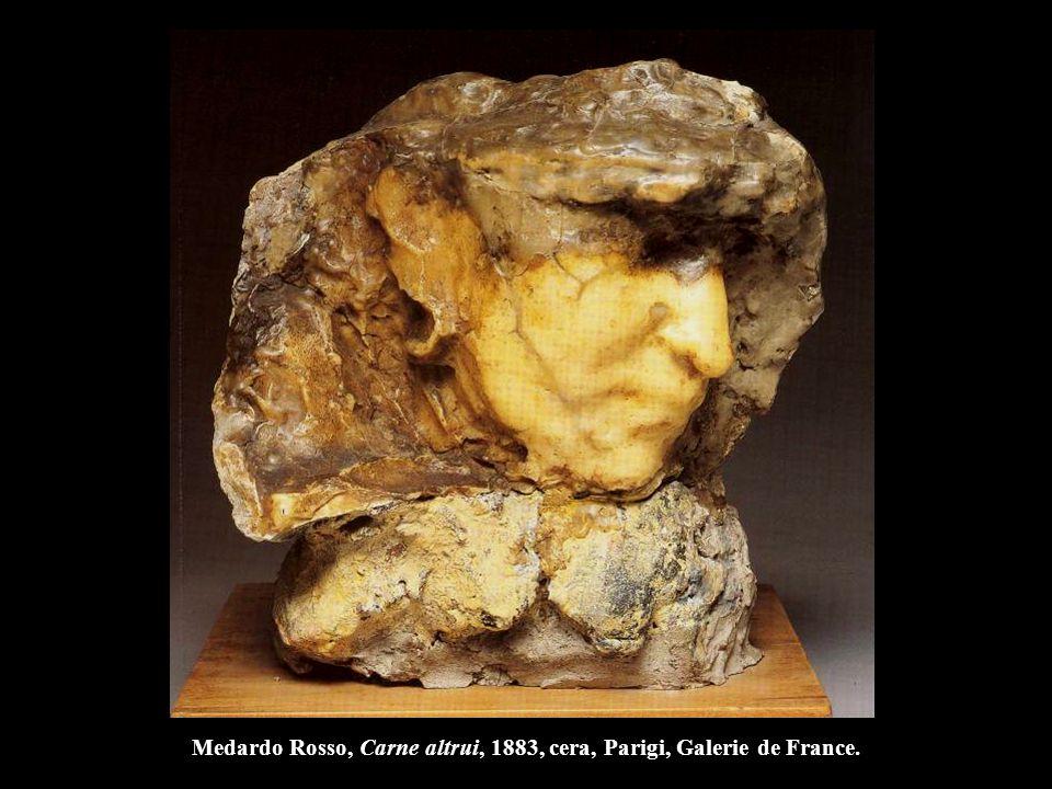 Auguste Rodin I borghesi di Calais, 1884-86, bronzo, h. 321 cm., Parigi, Museo Rodin.
