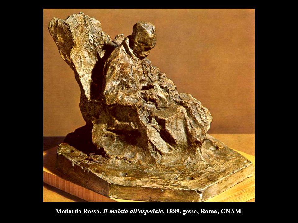 Auguste Rodin Fugit Amor, 1887, marmo, l. 48 cm., Parigi, Museo Rodin.