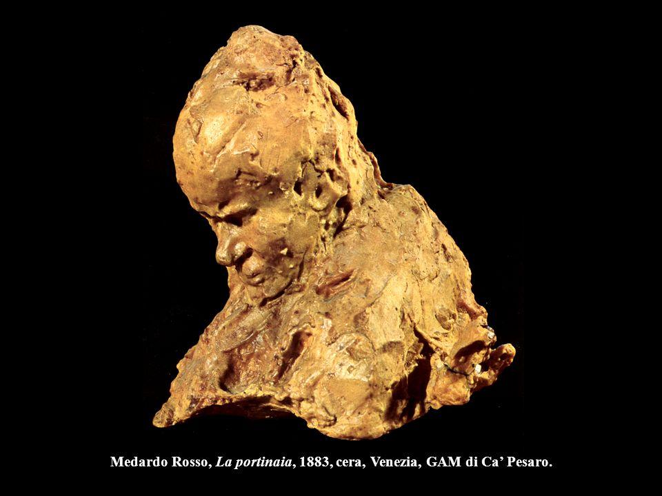 Auguste Rodin La Défense, 1879-80, gesso, h. 113 cm., Parigi, Museo Rodin.