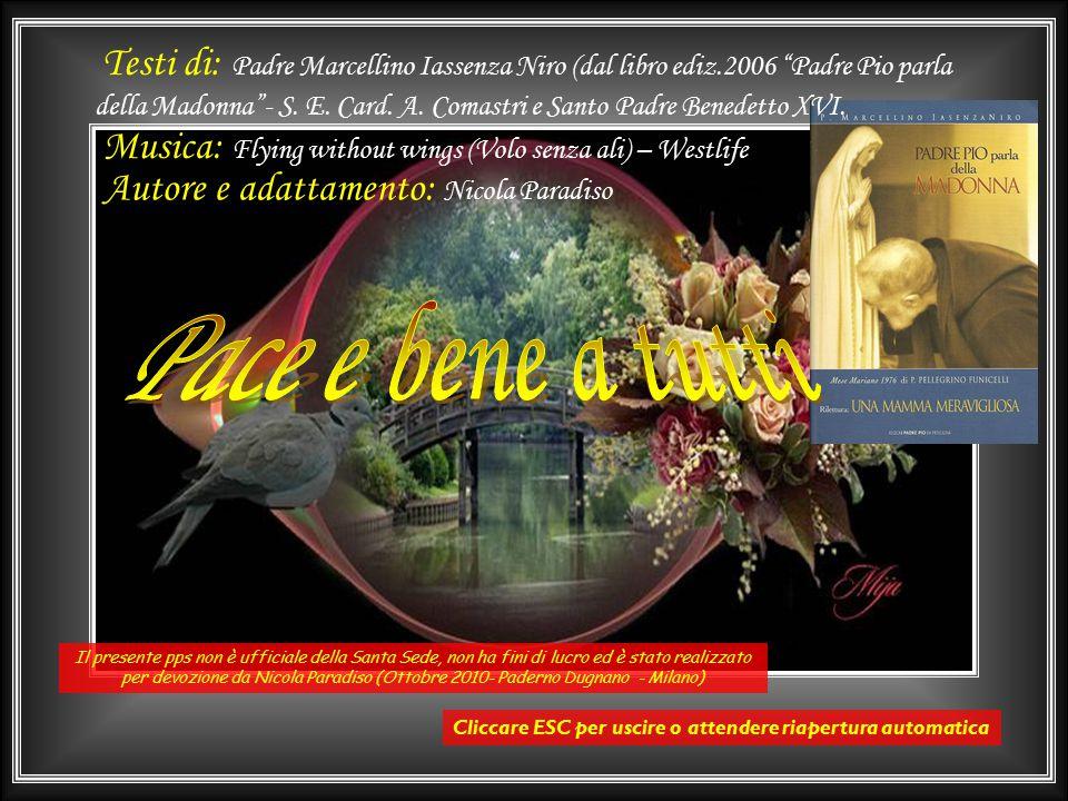 La conclusione è affidata all'Angelus del papa del 10 ottobre 2010 Ottobre è il mese del S. Rosario, che ci invita a valorizzare questa preghiera così