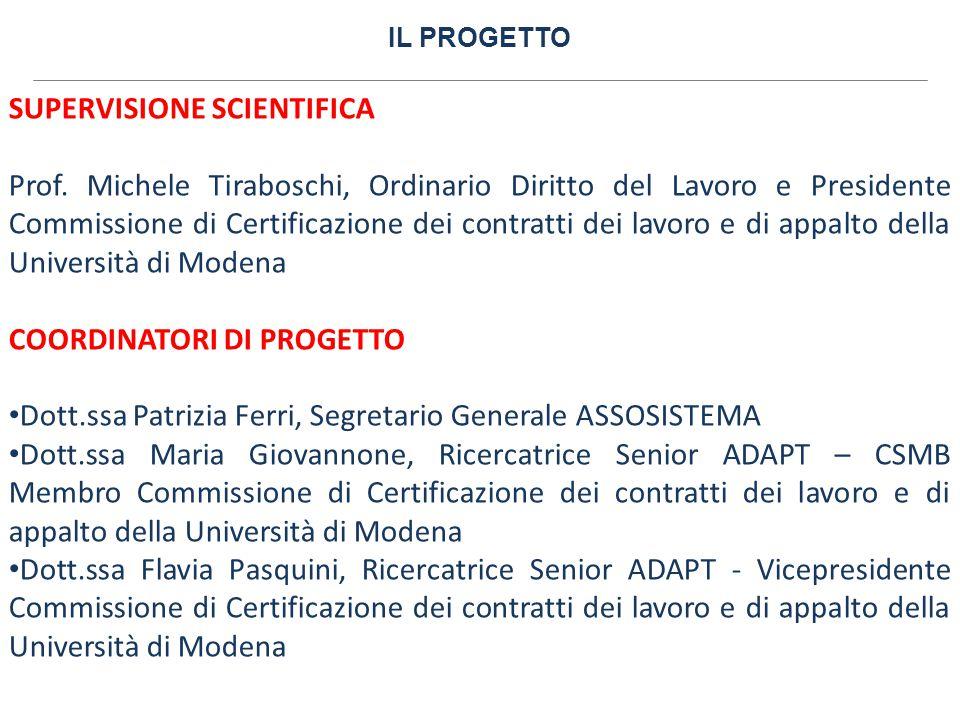 IL PROGETTO COORDINATORI AZIENDALI Dott.Egidio Paoletti, Consigliere Delegato ALSCO Italia S.r.l.