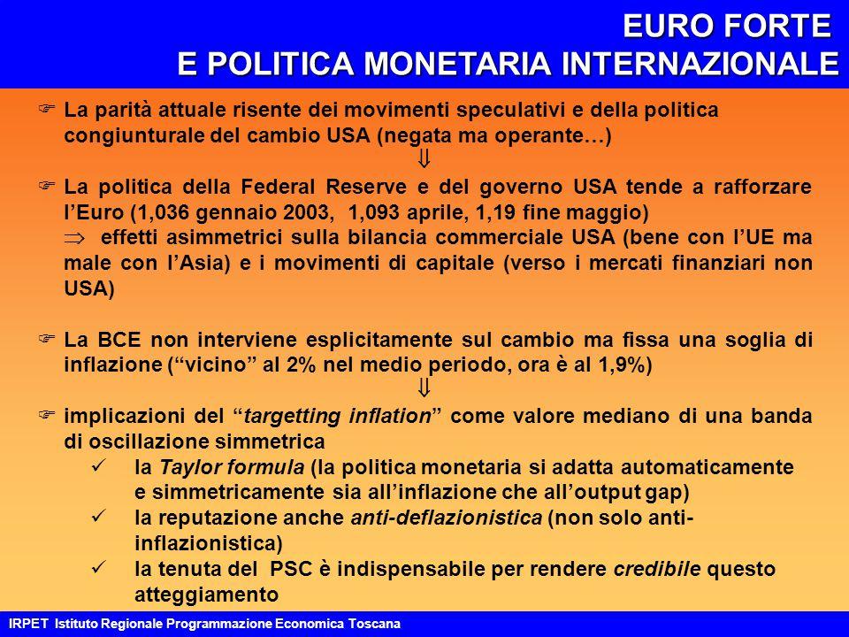 LA COMPETITIVITÀ DELL'ECONOMIA ITALIANA: DECLINO.
