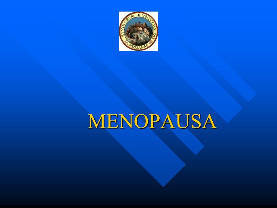 MENOPAUSA E ASPETTATIVA DI VITA